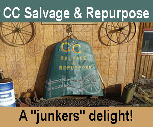 CC Salvage and Repurpose - a junker's delight