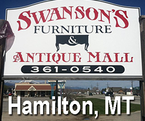 swansons furniture and antique mall, Hamilton, MT