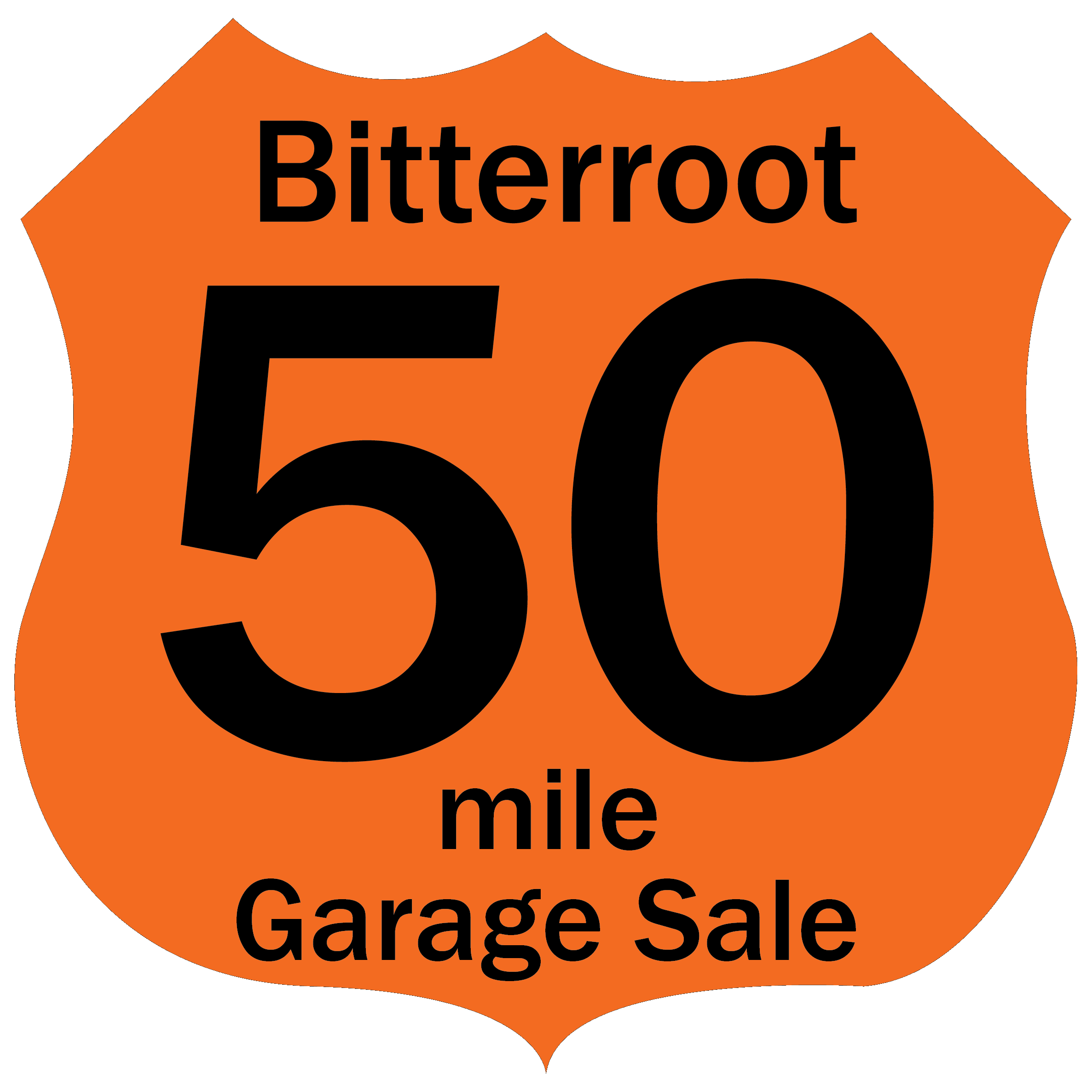 Bitterroot 50 Mile Garage Sale