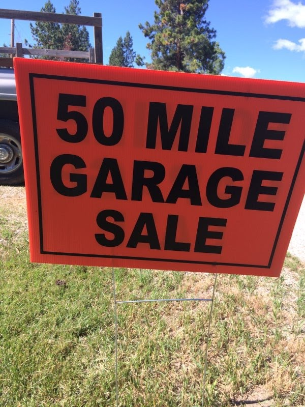 Two Amazing Days Of Bargain Hunting In The Bitterroot Valley Bitterroot 50 Mile Garage Sale